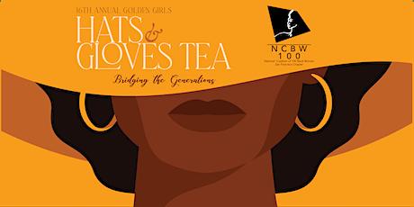 "Golden Girls Hats & Gloves Tea ""BRIDGING THE GENERATIONS"" tickets"