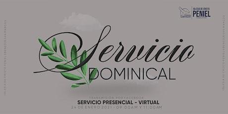 Segundo servicio dominical entradas
