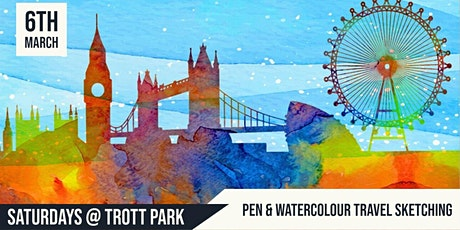 Pen & Watercolour Travel Sketching  | Trott Park tickets