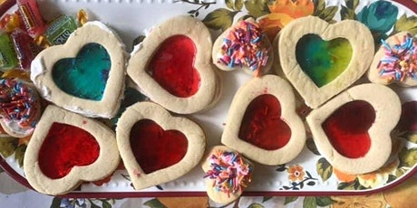 Valentine's day Heart Cookies - Free/by donation kid friendly recipe tickets