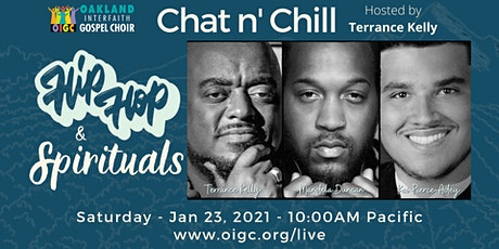 1/23: Hip Hop & Spirituals, Chat n' Chill w/ Terrance Kelly tickets