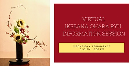 Virtual Ikebana Ohara Ryu Information Session and Student Art Show tickets