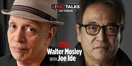 Walter Mosley in conversation with Joe Ide tickets