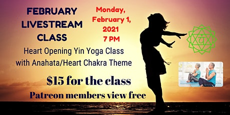 Livestream Yin Yoga for the Heart with Om Sunshine Yoga tickets