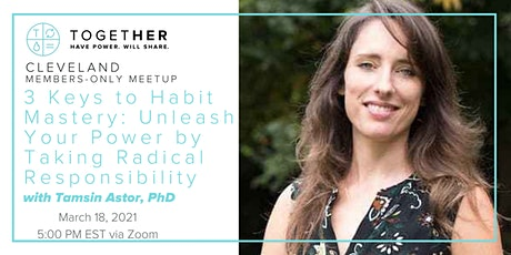 Cleveland Together 3 Keys to Habit Mastery: Unleash Your Power tickets