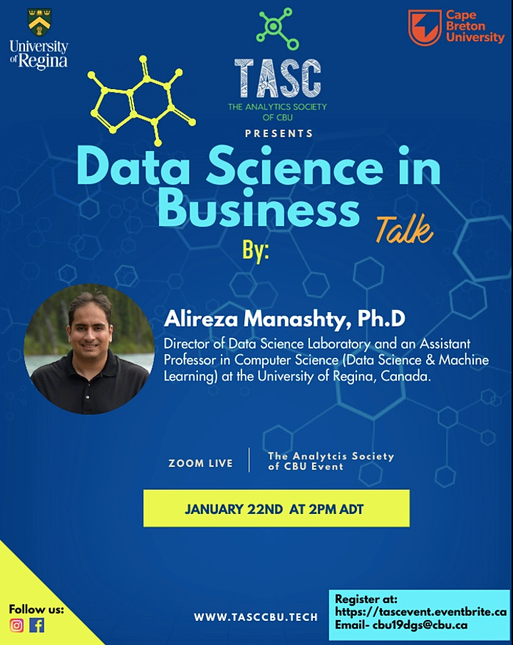 Data Science in Business- Live Talk image