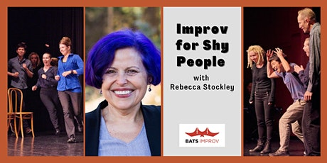 Online:  Intro to Improv with Rebecca Stockley tickets