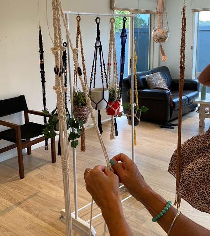 Macrame Workshop with Yo's Knots image
