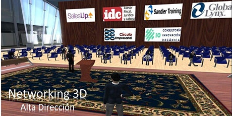Networking Ejecutivo 3D entradas