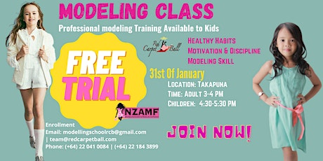 Free Modelling Trial for Kids tickets