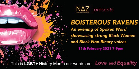 Boisterous Ravens LGBT+ History month tickets