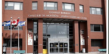 DBJEC Users' Committee AGM/AGA Comité des usagers CHSLD juif Donald Berman billets