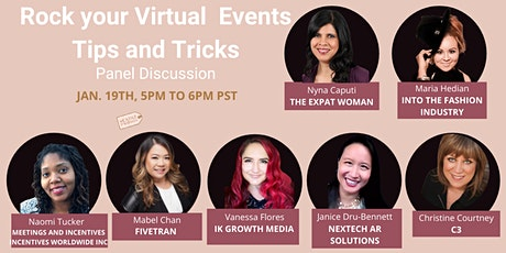 Rock your Virtual Events: Tips and Tricks tickets