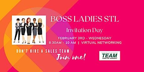 Boss Ladies STL TEAM Invitation Day tickets