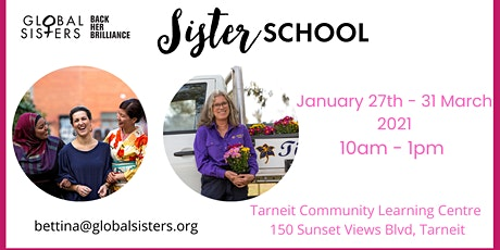 Global Sisters Sister School Melbourne West - 10 week education program tickets