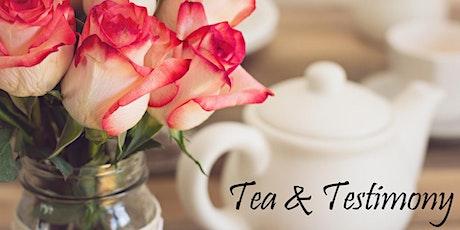 Virtual Tea & Testimony 2021 tickets