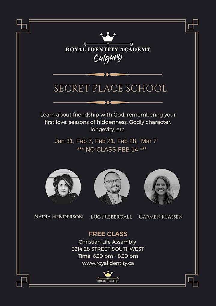 Secret Place School image