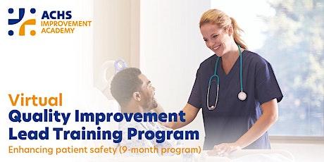 Virtual Quality Improvement Lead Training Program (V-QIL) - Module 3 tickets