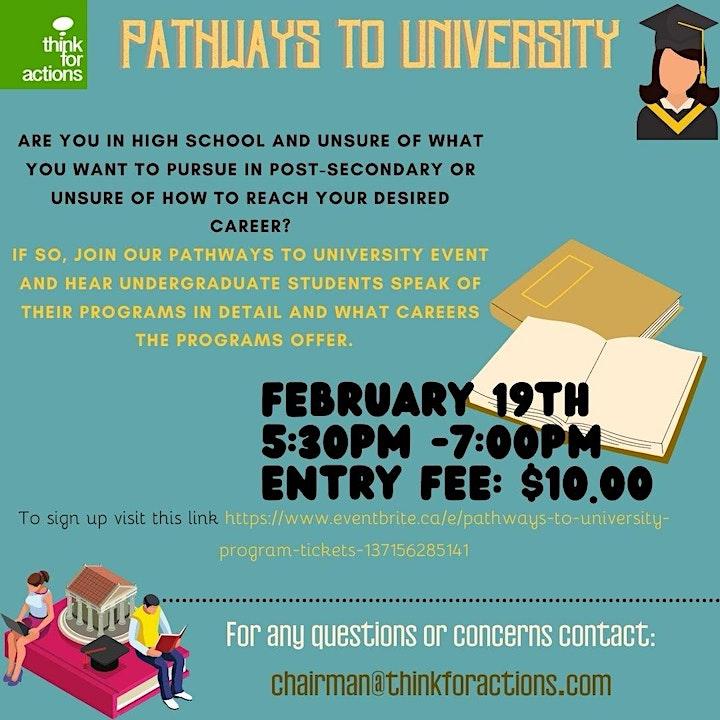 Pathways to University Program image