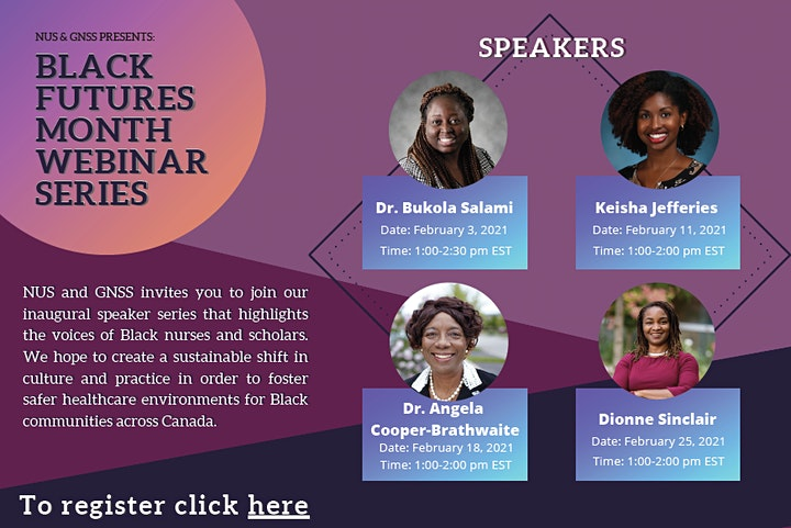 Black Futures Month Healthcare Webinar Series image
