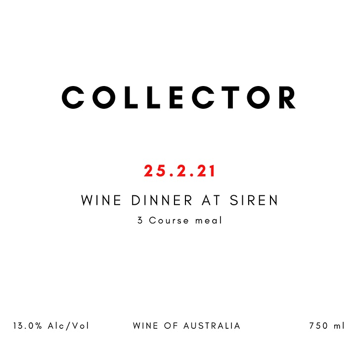 COLLECTOR Wine Dinner at Siren image