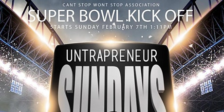 UNTRAPreneur @The Red Rooster SuperBowl Sunday KickOff Grand Opening tickets
