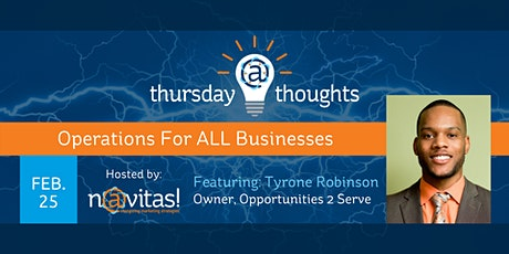 Operations For ALL Businesses tickets