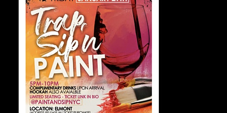 Trap and Sip Paint Night tickets