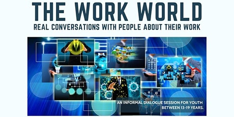 The Work World Featuring Lawrence Seaton, Food & Beverage Entrepreneur tickets