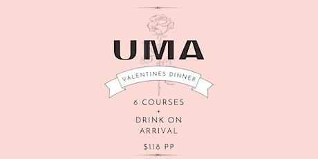 Valentine's Day Dinner  at UMA Perth | Sunday 14th February tickets