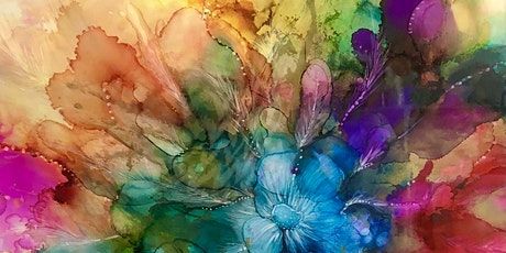 Bubbles and Brush Alcohol Ink Workshop tickets
