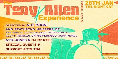 The Tony Allen Experience tickets