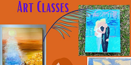 Art and Oil Painting Classes tickets