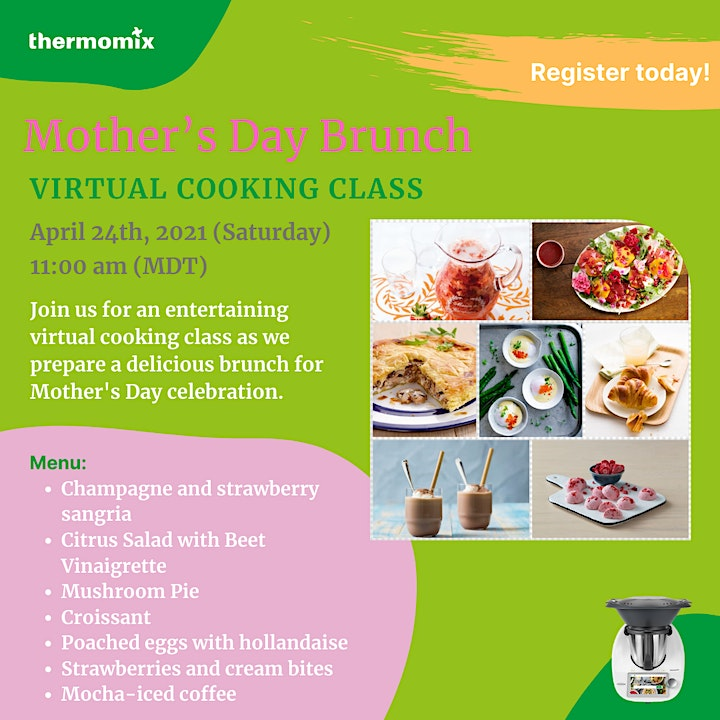 Thermomix®  Virtual Cooking Class: Mother's Day Brunch image