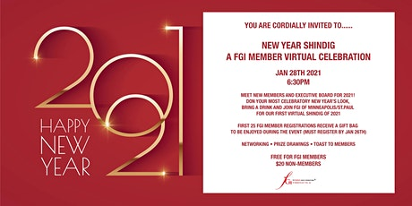 FGI's New Year Shindig and Annual Meeting tickets