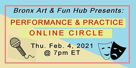 BxAFH Performance & Practice Online Circle - Feb. 4, 2021 tickets