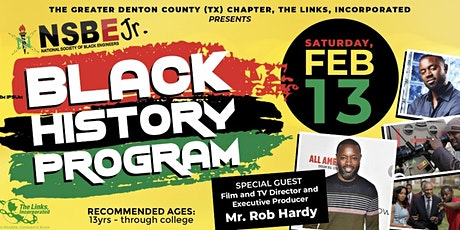 NSBE Jr. Black History Program with special guest Mr. Rob Hardy tickets