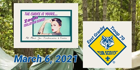YOUR CHOICE Bingo to Benefit Cub Scout Troop 70, East Granby, CT tickets