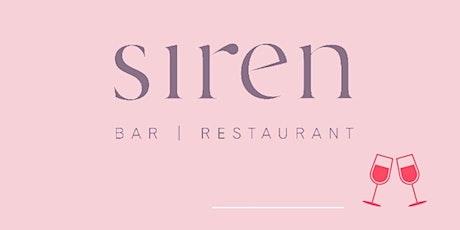 Valentines  Day Dinner - Siren Bar tickets