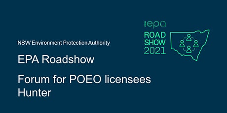 EPA forum for POEO licensees – Hunter tickets