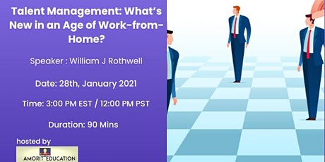Talent Management: What's New in an Age of Work-from-Home? tickets