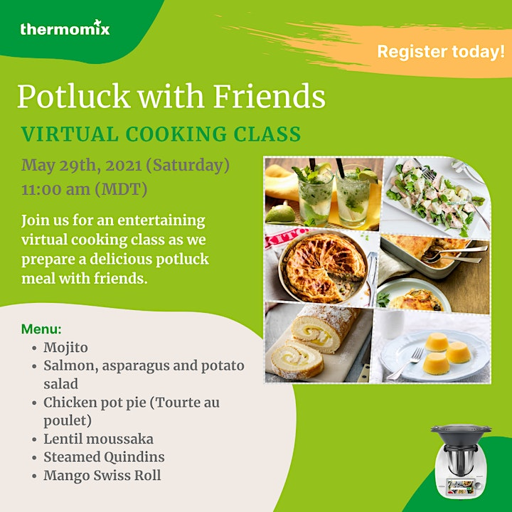 Thermomix®  Virtual Cooking Class: Potluck with Friends image