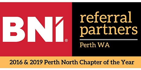 BNI REFERRAL PARTNERS NETWORKING tickets