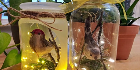 Spring Bird Mason Jar Craft - Live, Interactive Virtual Class tickets