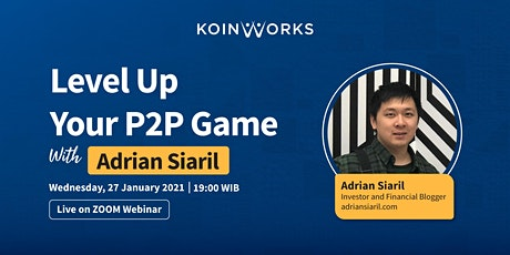 Level Up Your P2P Game with Adrian Siaril tickets