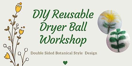 Botanical Wool Dryer Balls Workshop tickets