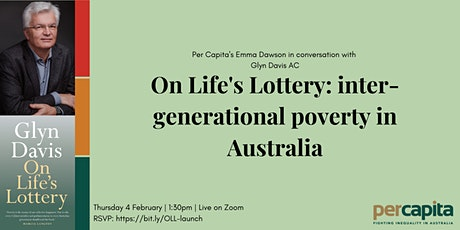 On Life's Lottery: inter-generational poverty in Australia tickets