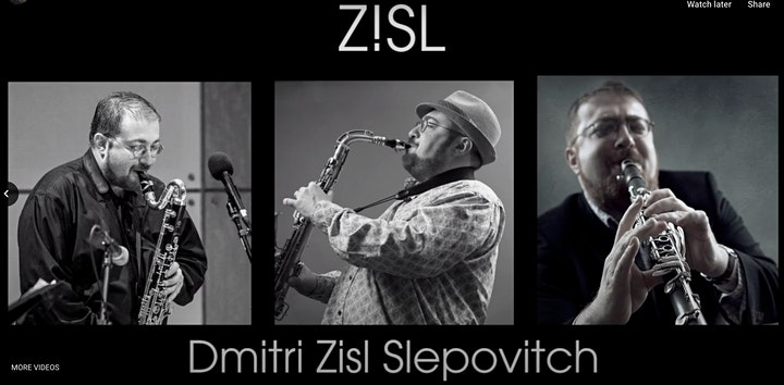 KLEZMER - Music of the People, by Dr. Zisl Slepovitch image