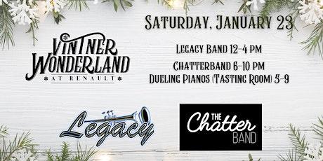 Legacy, Chatterband & Skating Sessions at Renault's Vintner Wonderland tickets
