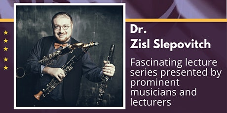 KLEZMER - Music of the People, by Dr. Zisl Slepovitch tickets